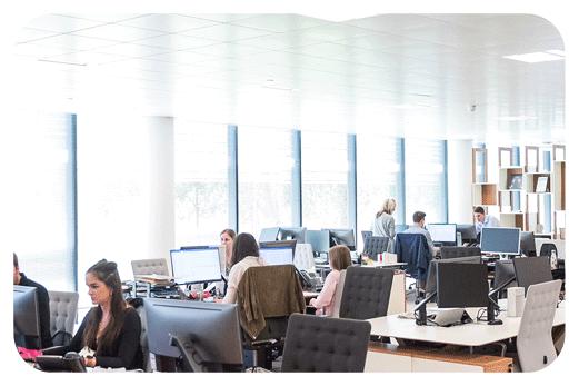Werkplek ICT samenwerken Office HCA