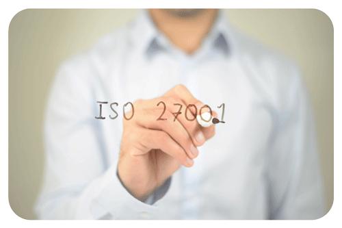ISO 27001 certified IEC