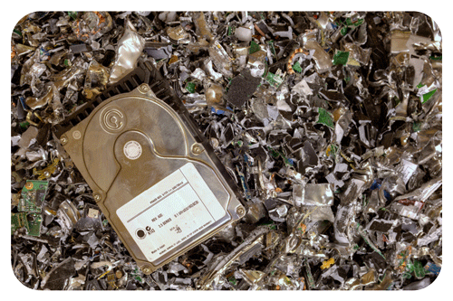 Datavernietiging Harddrive destruction ICT data vernietigen